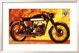 Bultaco Metralla MK2 Motorcycle Framed Giclee Print