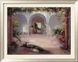 Haibin - Sunlit Courtyard Umělecké plakáty