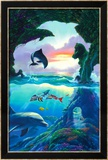 Seven Dolphins Posters by Jim Warren