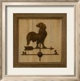 Girouette Coq Kunstdrucke von Thierry Verger