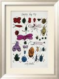 Happy Bug Day, c.1954 Poster von Andy Warhol