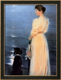 Summer Evening at Skagen Posters by Peder Severin Kr&#246;yer