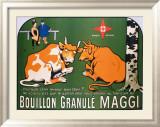Bouillon Maggi Framed Giclee Print by Benjamin Rabier
