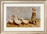 Sir James Guthrie - To Pastures New Plakát