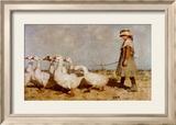 Auf zu neuen Weiden Poster von Sir James Guthrie