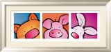 Animal Friends I Poster af Jean Paul