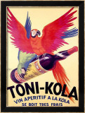 Toni-Kola Gerahmter Gicl&#233;e-Druck von Robys (Robert Wolff) 