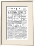 New York Times, December 8, 1941: Pearl Harbor Framed Giclee Print