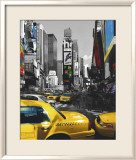 Rush Hour on Broadway Kunstdrucke von Henri Silberman