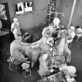 An Artifical Hip Joint Surgery Fototryk i høj kvalitet af Al Fenn
