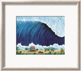 Shorebreak Prints by Rick Romano