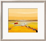 Barques Sur Horizon Print by Christian Eurgal