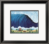 Shorebreak Print by Rick Romano