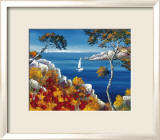 Promenade Vers les Calanques Prints by Roger Keiflin