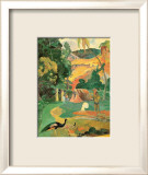 Matamoe (Paysage aux paons) Affiches par Paul Gauguin