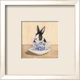 Teacup Bunny III Posters by Kari Phillips