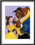 Belle and the Beast, A Romantic Gift Prints