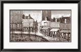 Vue de Paris, Place du Tertre Prints by Aleksandre Kukolj