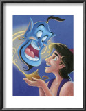 Aladdin and the Genie: The Magic Lamp Prints