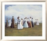 Ladies Golf Prints by Curney Nuffer
