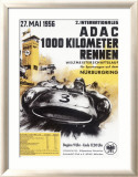 Nurburgring 1000 Auto Race, c.1956 Gerahmter Gicl&#233;e-Druck