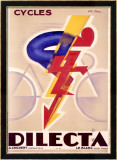 Cycles Dilecta Framed Giclee Print by G. Favre