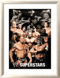 WWE Collage Prints