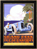 Grand Prix d&#39;Antibes Framed Giclee Print by Alexis Kow