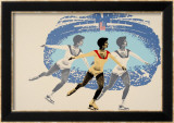 Lake Placid 1980 Figure Skater Prints by Wheeler