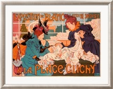 Exposition de Blanc Place Framed Giclee Print by Thiriet