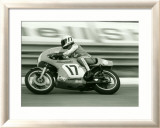 GP Motorcycle Framed Giclee Print by Giovanni Perrone