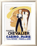 Chevalier Cas de Paris Framed Giclee Print by Charles Kiffer
