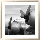 Vintage Flight I Prints by Janet Van Arsdale
