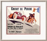 Circuit du Perche Framed Giclee Print by T. J. Bridge