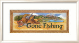 Gone Fishing Posters by Jerianne Van Dijk