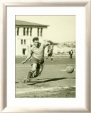 Swiss Ac Rovers Soccer Player Poster Gerahmter Giclée-Druck von Photo Archive Underwood