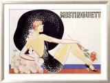 Mistinguett Kehystetty giclee-vedos tekijn Zig (Louis Gaudin)