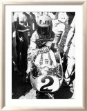 Kenny Roberts, Laguna Seca GP Estampe encadrée par Jerry Smith