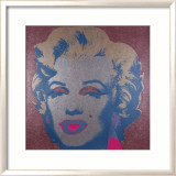 Marilyn, c.1967 (Silver) Posters by Andy Warhol