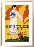 Smith College Fund Indrammet giclee-tryk