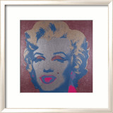 Marilyn, c.1967 (Silver) Print by Andy Warhol
