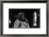 Aretha Franklin in Lights Poster