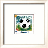 Soccer Prints by Lila Rose Kennedy