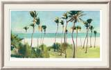Miami Beach Limited Edition Framed Print by Allyson Krowitz
