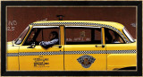 Checker Cab Prints by Max Ferguson