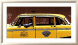 Checker Cab Posters by Max Ferguson