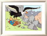 Tintin and the Condor Prints by Hergé (Georges Rémi)