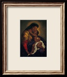 Madonna and Child Print by Tim Ashkar