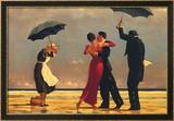 Le majordome chantant Posters par Jack Vettriano