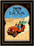 Tintin au Pays de l&#39;Or Noir, c.1950 Affiches par Herg&#233; (Georges R&#233;mi) 